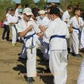Общая тренировка карате шинкиокушин уракен на Мамаевом Кургане 42