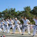 Общая тренировка карате шинкиокушин уракен на Мамаевом Кургане 32