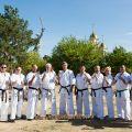 Общая тренировка карате шинкиокушин уракен на Мамаевом Кургане 56