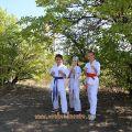 Общая тренировка карате шинкиокушин уракен на Мамаевом Кургане 54