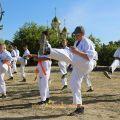 Общая тренировка карате шинкиокушин уракен на Мамаевом Кургане 17