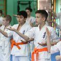 Экзамен на пояс карате киокусинкай в лицее 9 Волгограда 4