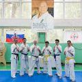 Экзамен на пояс карате киокусинкай в лицее 9 Волгограда 47