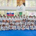 Экзамен на пояс карате киокусинкай в лицее 9 Волгограда 46