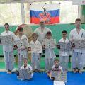 Экзамен на пояс карате киокусинкай в лицее 9 Волгограда 45