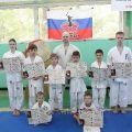 Экзамен на пояс карате киокусинкай в лицее 9 Волгограда 44