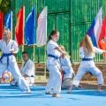 Показательные выступления каратистов Федерации Уракен Карате на открытии НОВОЙ спортивной площадки Лицея 9 19