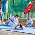 Показательные выступления каратистов Федерации Уракен Карате на открытии НОВОЙ спортивной площадки Лицея 9 26