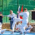 Показательные выступления каратистов Федерации Уракен Карате на открытии НОВОЙ спортивной площадки Лицея 9 33