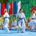 Показательные выступления каратистов Федерации Уракен Карате на открытии НОВОЙ спортивной площадки Лицея 9 22