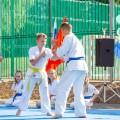Показательные выступления каратистов Федерации Уракен Карате на открытии НОВОЙ спортивной площадки Лицея 9 36