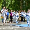 Показательные выступления каратистов Федерации Уракен Карате на открытии НОВОЙ спортивной площадки Лицея 9 55