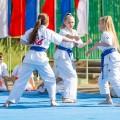Показательные выступления каратистов Федерации Уракен Карате на открытии НОВОЙ спортивной площадки Лицея 9 20