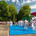 Показательные выступления каратистов Федерации Уракен Карате на открытии НОВОЙ спортивной площадки Лицея 9 9