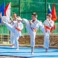 Показательные выступления каратистов Федерации Уракен Карате на открытии НОВОЙ спортивной площадки Лицея 9 53