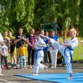 Показательные выступления каратистов Федерации Уракен Карате на открытии НОВОЙ спортивной площадки Лицея 9 18