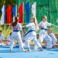 Показательные выступления каратистов Федерации Уракен Карате на открытии НОВОЙ спортивной площадки Лицея 9 23