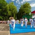 Показательные выступления каратистов Федерации Уракен Карате на открытии НОВОЙ спортивной площадки Лицея 9 10