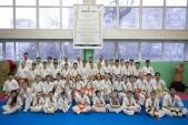 Боевая тренировка киокусинкай в Лицее 9 города Волгограда (рис.1)