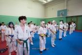 Боевая тренировка киокусинкай в Лицее 9 города Волгограда (рис.10)