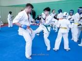Боевая тренировка киокусинкай в Лицее 9 города Волгограда (рис.2)