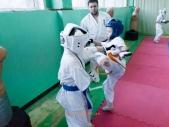 Боевая тренировка киокусинкай в Лицее 9 города Волгограда (рис.3)