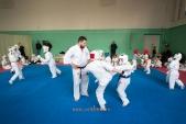 Боевая тренировка киокусинкай в Лицее 9 города Волгограда (рис.4)