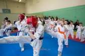 Боевая тренировка киокусинкай в Лицее 9 города Волгограда (рис.7)