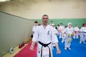 Боевая тренировка киокусинкай в Лицее 9 города Волгограда (рис.9)