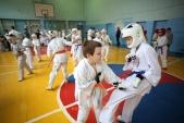 Боевая тренировка с каратистами города Волжского (рис.7)
