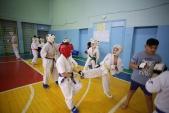 Боевая тренировка с каратистами города Волжского (рис.9)