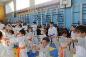 Аттестация и посвящение в каратисты в Волгоградской Федерации Киокусинкай (рис.3)