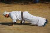 Традиционная общая тренировка на Мамаевом Кургане по случаю начала нового 2019-2020 учебного года (рис.31)