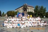 Сдача нормативов ГТО в Волгоградской федерацие каратэ Киокушинкай