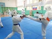 Аттестация на пояс киокусинкай карате и посвящение в каратисты май 2021 (рис.6)