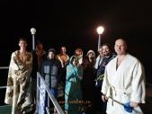 Крещенские купания каратистов Волгоградской области