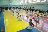 Общая тренировка киокусинкай в городе Волжском (рис.2)