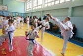 Общая тренировка киокусинкай в городе Волжском (рис.3)
