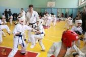 Общая тренировка киокусинкай в городе Волжском (рис.33)