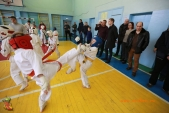 Общая тренировка киокусинкай в городе Волжском (рис.36)