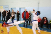 Общая тренировка киокусинкай в городе Волжском (рис.40)