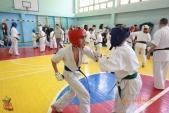 Общая тренировка киокусинкай в городе Волжском (рис.41)