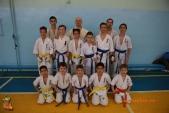 Общая тренировка киокусинкай в городе Волжском (рис.5)