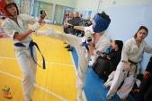 Общая тренировка киокусинкай в городе Волжском (рис.8)