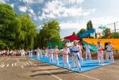 Выступления Федерации Уракен Карате на открытии НОВОЙ спортивной площадки Лицея 9