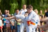 Выступления Федерации Уракен Карате на открытии НОВОЙ спортивной площадки Лицея 9  (рис.10)