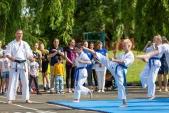 Выступления Федерации Уракен Карате на открытии НОВОЙ спортивной площадки Лицея 9  (рис.12)