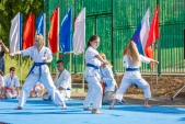 Выступления Федерации Уракен Карате на открытии НОВОЙ спортивной площадки Лицея 9  (рис.13)