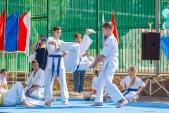Выступления Федерации Уракен Карате на открытии НОВОЙ спортивной площадки Лицея 9  (рис.16)