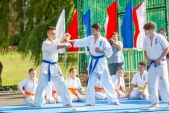 Выступления Федерации Уракен Карате на открытии НОВОЙ спортивной площадки Лицея 9  (рис.20)
